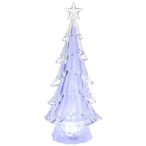 Tall Shimmering Pearl LED Christmas Tree Novelty Decoration